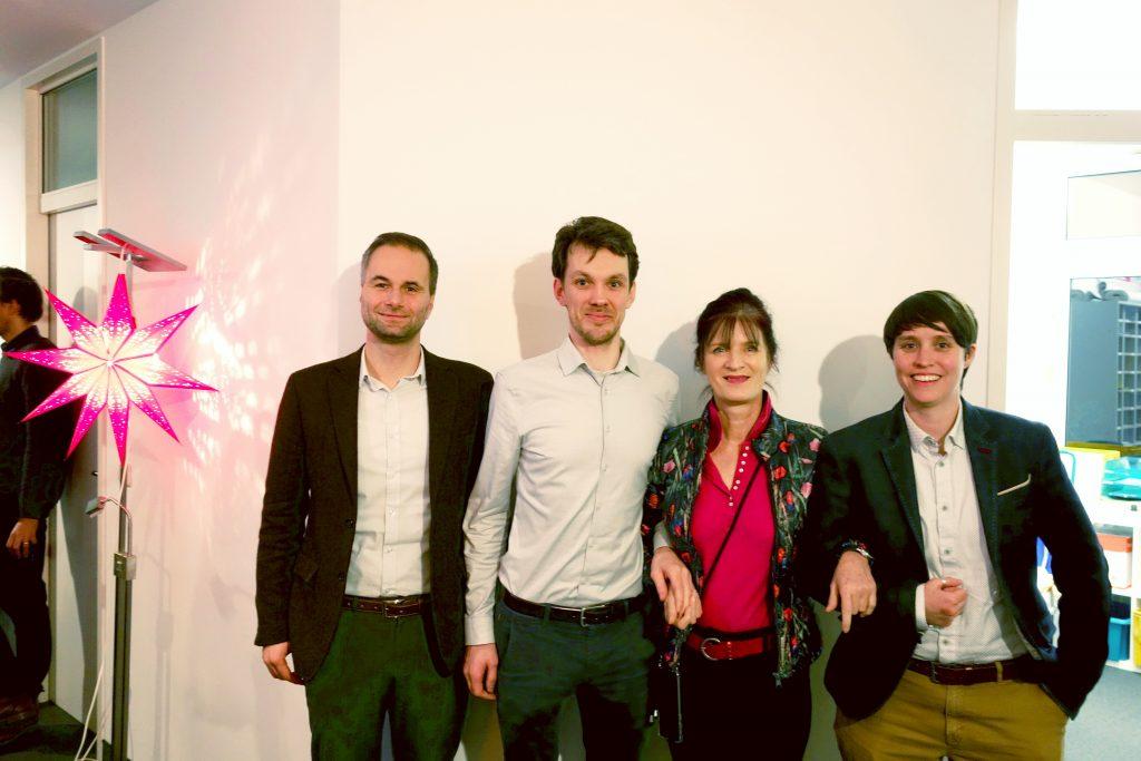 Prof. Sebastian Pfotenhauer, Pim Peters, Prof. Sabine Maasen, Ass. Prof. Jess Bier