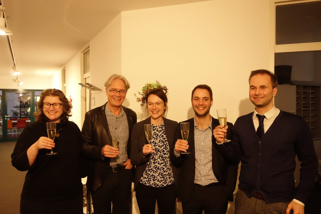 Prof. Dr. Ruth Müller, Prof. Dr. Stefan Kuhlmann, Franziska Engels, Dr. Pierre Delvenne, Prof. Dr. Sebastian Pfotenhauer